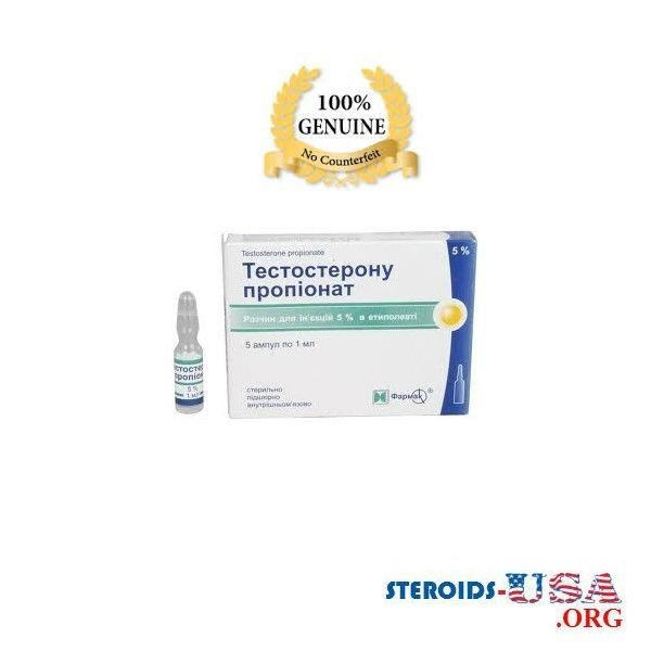 Amplificatore di Testosterone propionato, Ucraina 1 50mg Farmak. (basata di etile oleato) 1