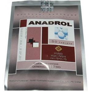Anadrol Hubei 10mg (oxymentholone) 50 tabs 1