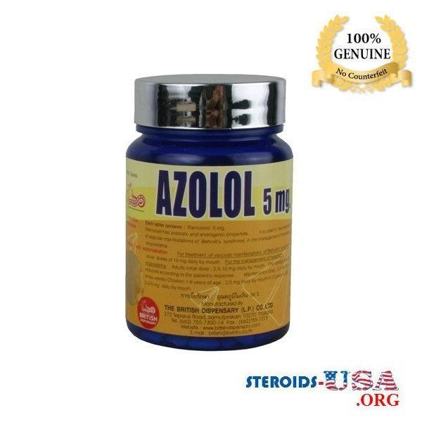 Azolol 5mg Fiali 100 compresse (Winstrol compresse) 1