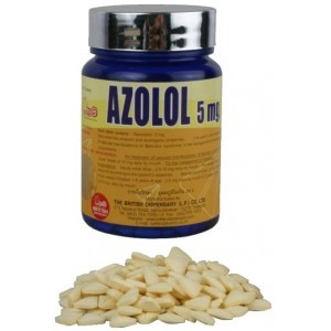 Azolol British Dispensary 400 tabs [5mg/tab] 1
