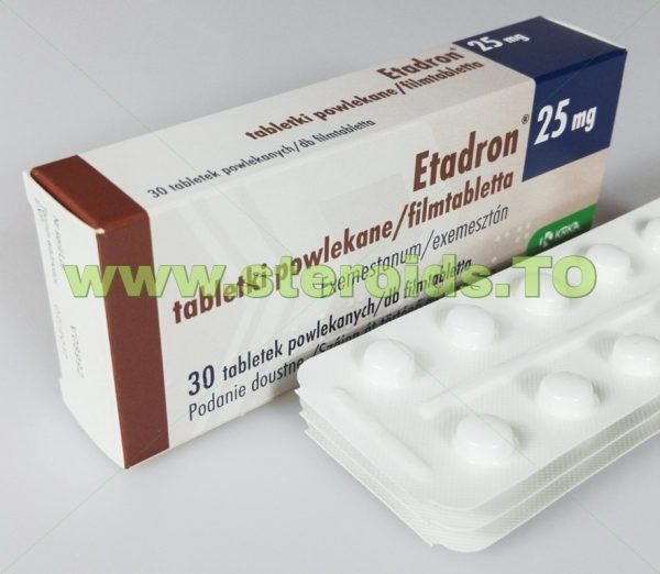 Etadron [Exemestane] 30 tablets [25mg/tab] 1