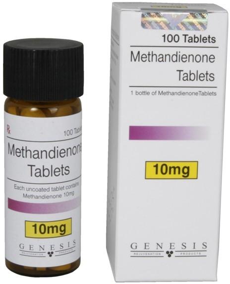Methandienone 10mg Tablets Genesis 1