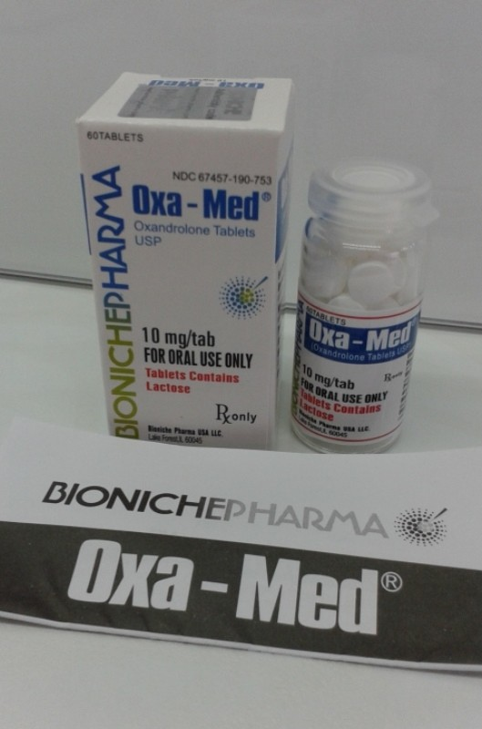 Oxa-Med Bioniche Pharmacy (Anavar, Oxandrolone) 60tabs (10mg/tab) 2