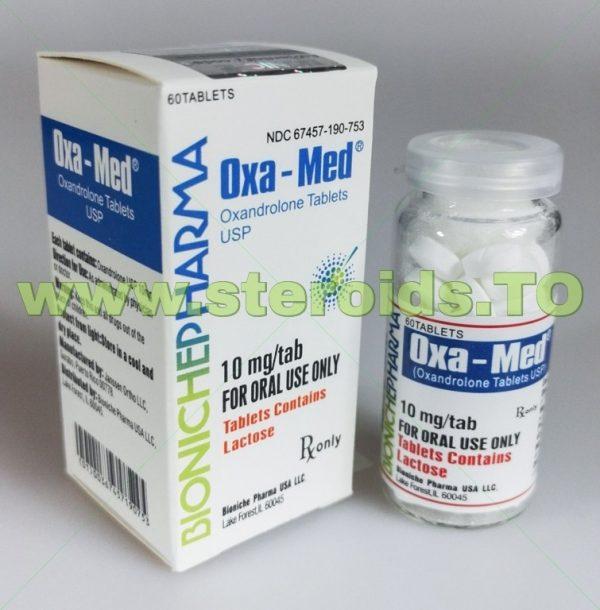 Oxa-Med Bioniche Pharmacy (Anavar, Oxandrolone) 60tabs (10mg/tab) 3