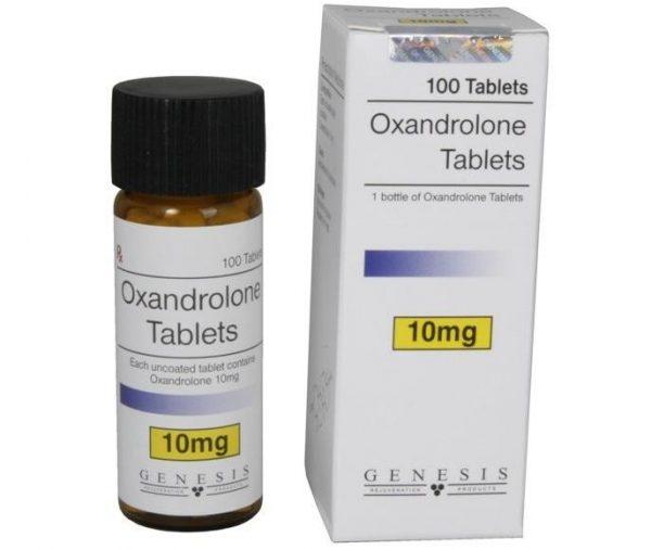 Oxandrolone Tablets Genesis [10mg/tab] - Anavar 1