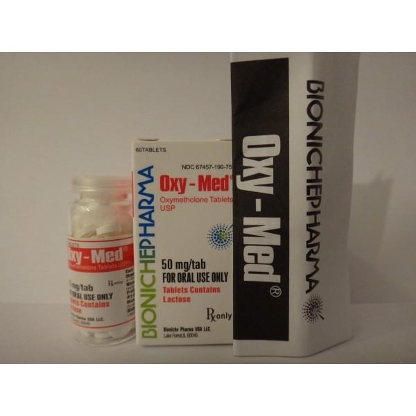 Oxy-Med Bioniche Pharma (Oxymethlone,Anadrol) 120tabs (50mg/tab) 2