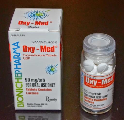 Oxy-Med Bioniche Pharma (Oxymethlone,Anadrol) 120tabs (50mg/tab) 1
