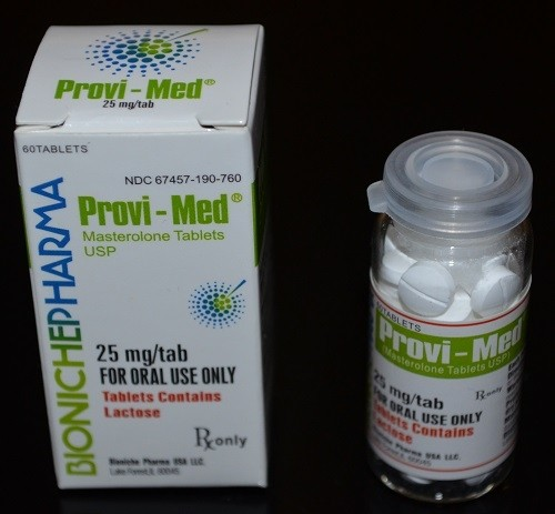 Provi-Med Bioniche Pharma (Proviron) 60tabs (25mg/tab) 2