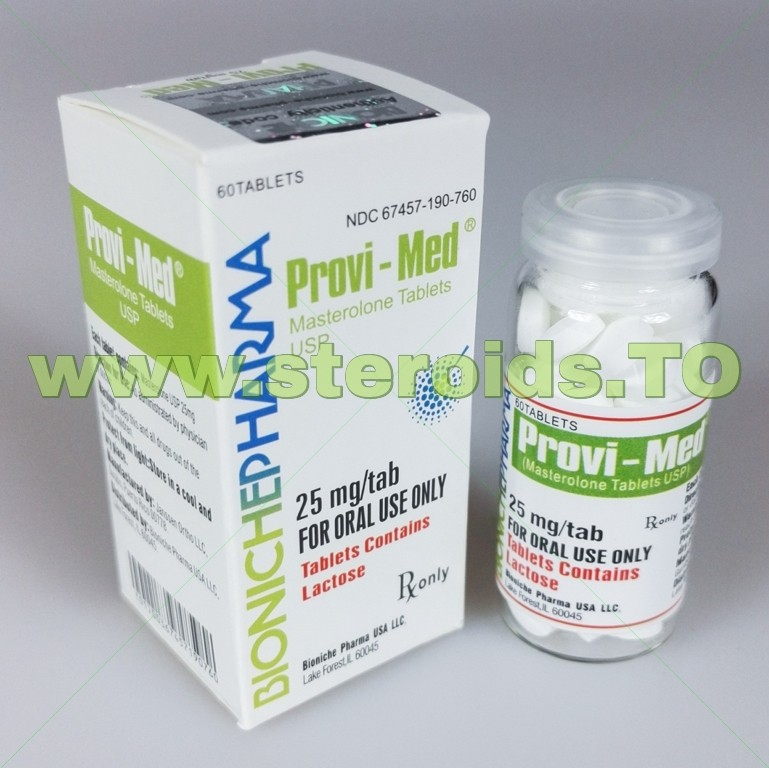 Acquista Provi-Med Bioniche Pharma (Proviron) 60tabs (25mg