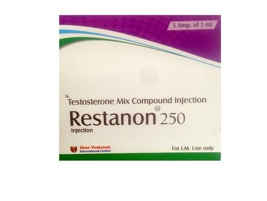 Acquista Restanon 250 Shree Venkatesh (Testosterone Mix