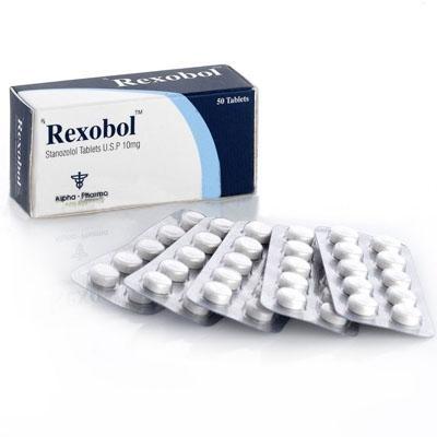 Rexobol 10mg Alpha Pharma (Winstrol) 1