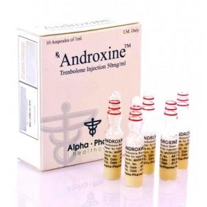 Acquista ANDROXINE ALPHA PHARMA (TRENBOLONE AQUA - BASE