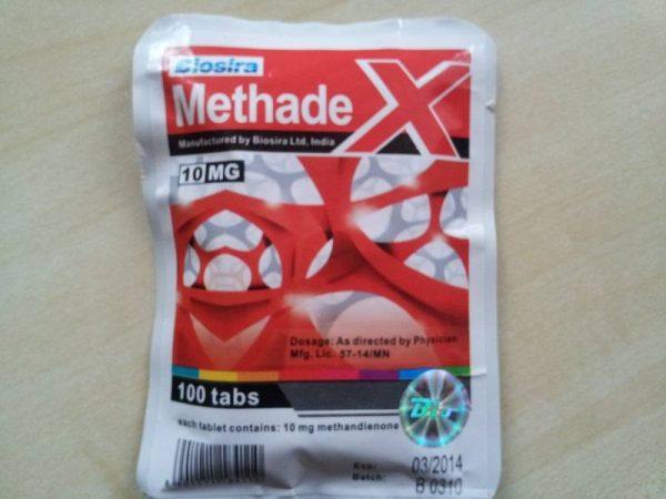METHADEX BIOSIRA (METHANDIENONE, DIANABOL) 100 COMPRESSE (10MG/SCHEDA) 1